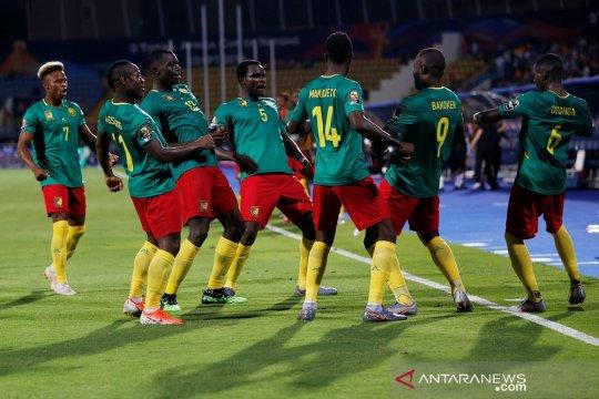 Kamerun awali upaya pertahankan gelar dengan tundukkan Guinea-Bissau