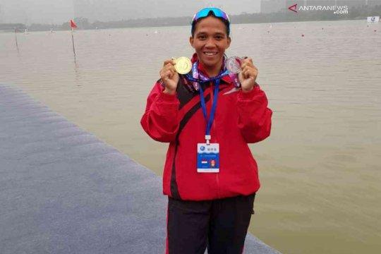 Atlet dayung Bekasi sabet dua emas di Thailand
