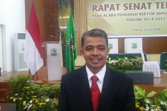 Prof Yuliandri terpilih sebagai Rektor Unand 2019-2023