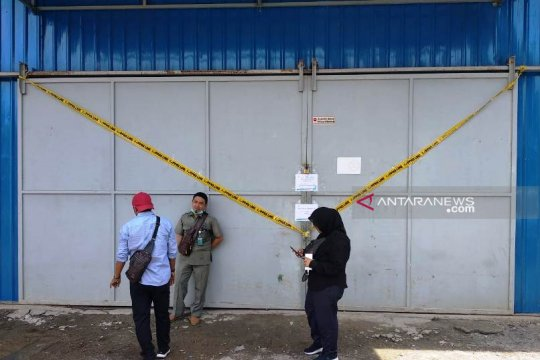 BBPOM segel pabrik air minum dalam kemasan di Nagan Raya Aceh