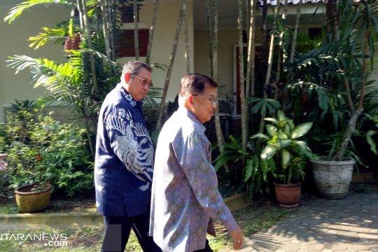 Bertemu SBY, JK kenang Ani Yudhoyono sebagai penggemar kerupuk