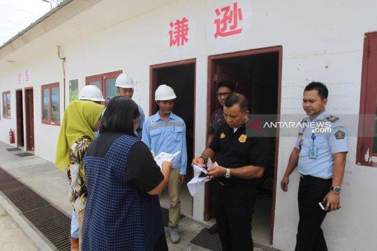 Sembilan pekerja asal China lari saat razia imigrasi di PLTU Bengkulu