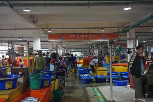 Kebersihan pasar ikan Muara Baru bawa harapan bagi penjual