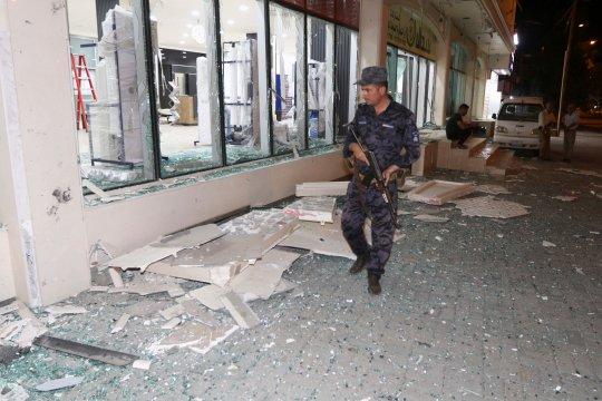 Lima polisi tewas dalam serangan bom di Irak