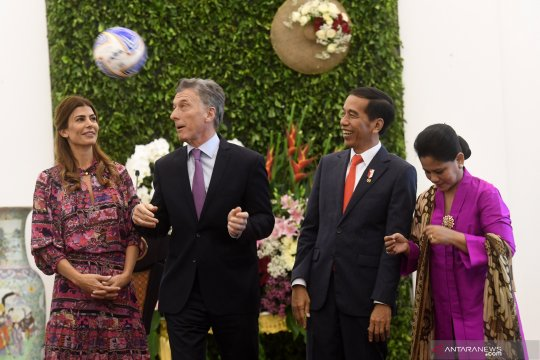 Presiden Argentina sampaikan selamat atas Pemilu di Indonesia