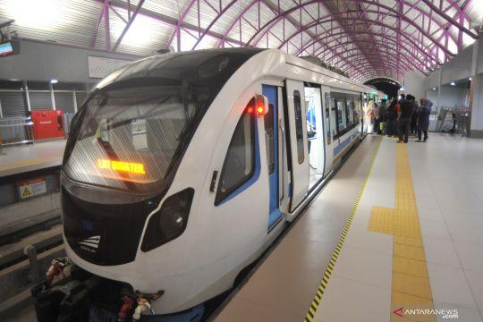 Penambahan jam operasional. LRT Palembang