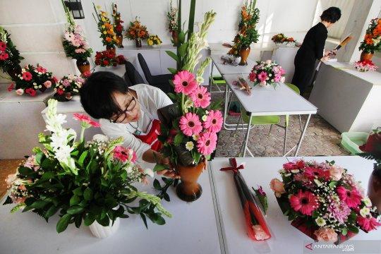 Uji kompetensi desain floral
