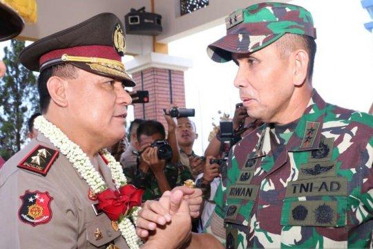 Forkopimda Sumsel sambut Irjen Pol Firli masuk Palembang