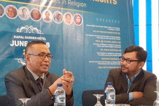 HAM memuat nilai keagamaan yang universal