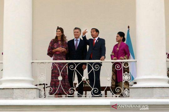 Kunjungan perdana presiden Mauricio Macri