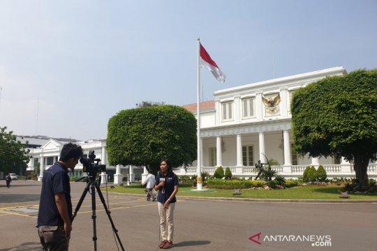Jelang putusan MK, Presiden tetap beraktivitas di Istana Jakarta