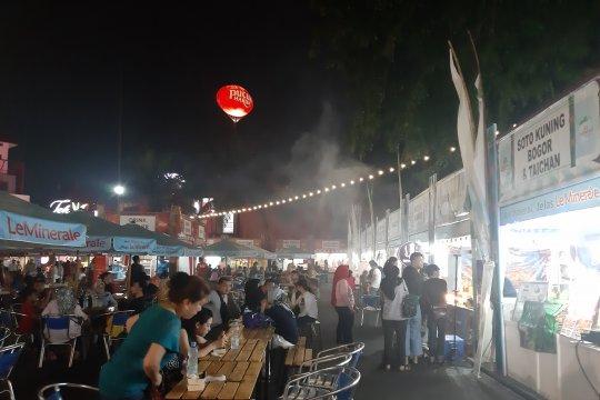 Stan kuliner paling ramai diserbu pengunjung Jakarta Fair