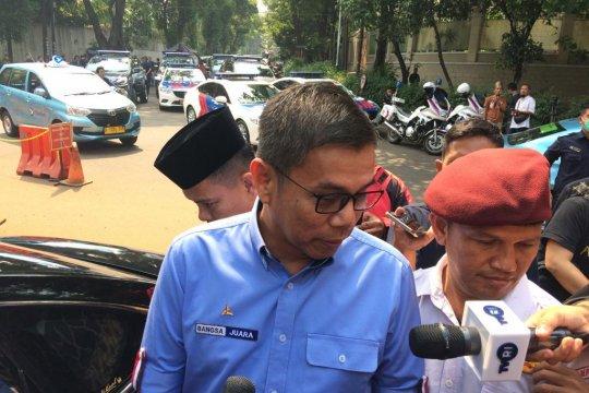 Parpol koalisi Indonesia Adil Makmur sambangi kediaman Prabowo