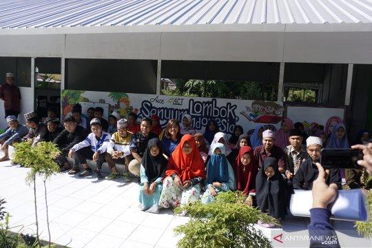 AICE sebarkan senyuman untuk anak korban gempa Lombok