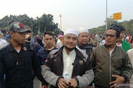 Massa aksi tinggalkan Jalan Medan Merdeka Barat