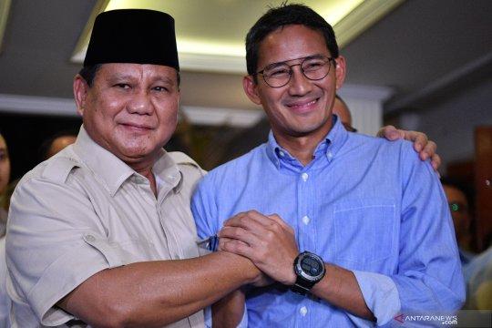 Prabowo ajak pendukungnya berjuang di jalur legislatif