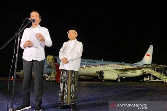 Jokowi berterima kasih pada MK yang putus sengketa dengan adil