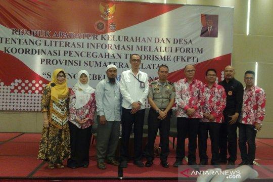 BNPT minta aparat kelurahan partisipasi cegah terorisme