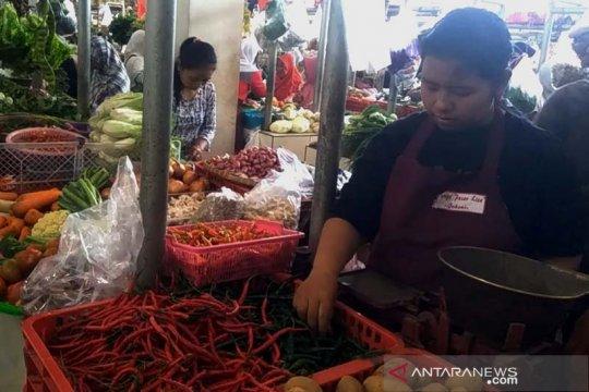 Harga cabai rawit merah di Purwokerto beranjak turun