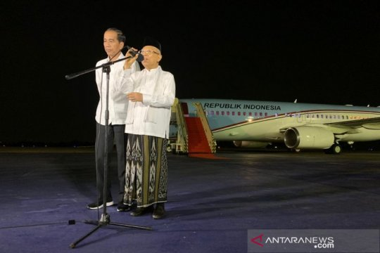 Kiai Ma'ruf mohon doa dan dukungan majukan bangsa Indonesia