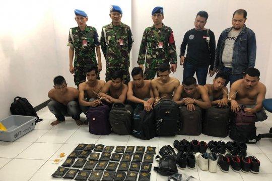 Penyelundupan empat kilogram sabu di Bandara Pekanbaru digagalkan