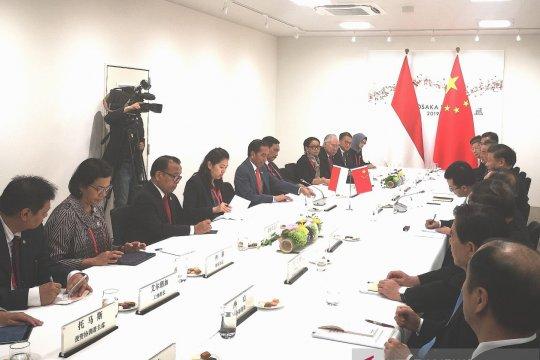 Xi Jinping janjikan kerja sama menguntungkan dengan Indonesia