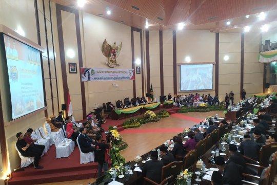 Rapat paripurna istimewa peringatan hari jadi ke-429 Medan