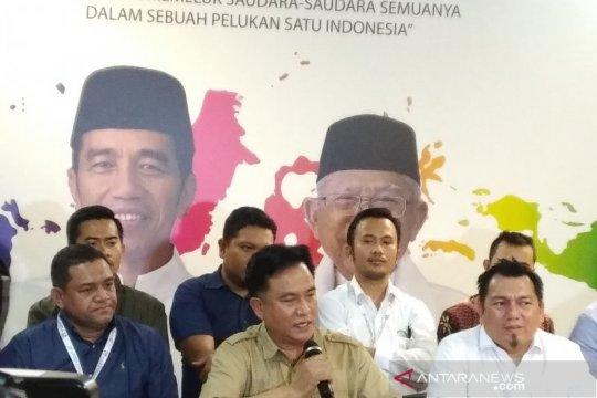 Yusril dan Tim Hukum silaturahmi dengan Presiden Jokowi