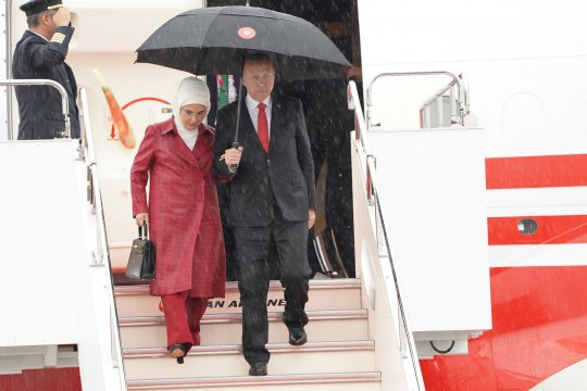 Erdogan: AS tak akan berlakukan sanksi terkait perjanjian misil Rusia