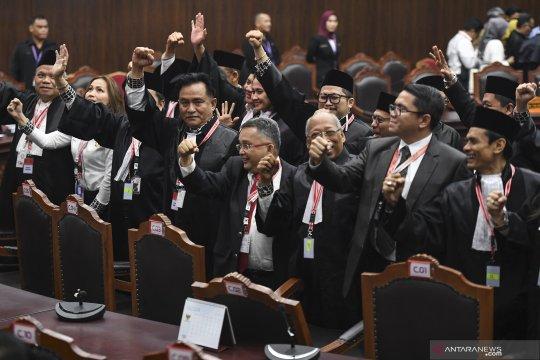 Sidang MK, Pertimbangan Mahkamah untuk gugatan Prabowo-Sandi