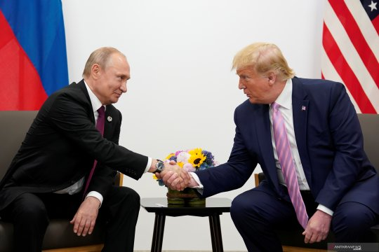 Pertemuan bilateral Putin dan Trump di Osaka