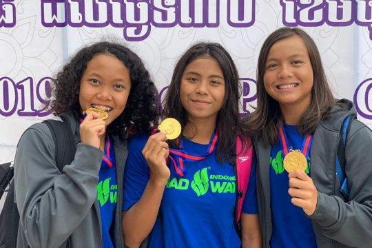Indonesia sabet empat emas kejuaraan renang kelompok umur di Kamboja