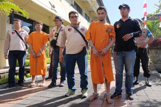 Penangkapan tahanan kabur di Bali