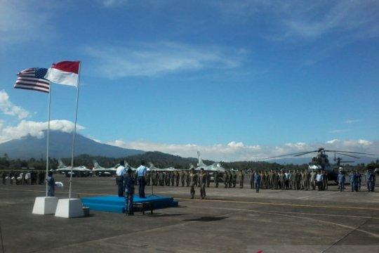 Latihan bersama Angkatan Udara Indonesia-Amerika Serikat berakhir