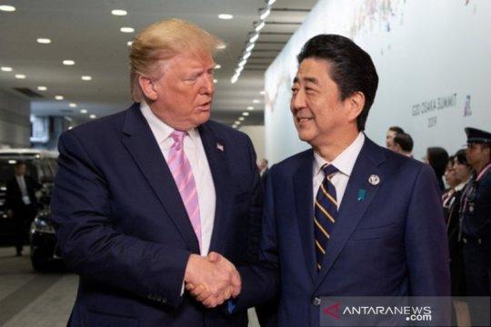 Trump-Abe akan bicarakan perdagangan dan pertahanan di sela KTT G20