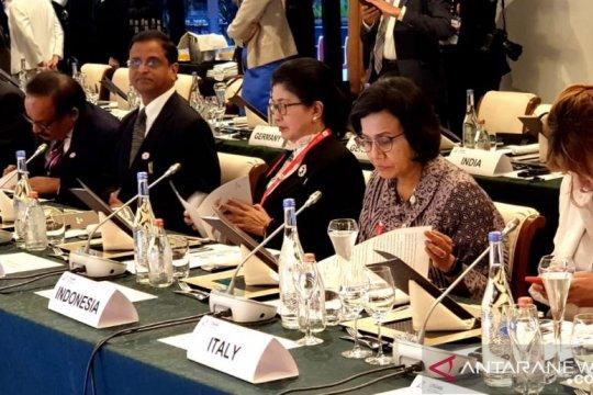 Menkes-Menkeu G20 sepakat kerjasama pembiayaan kesehatan berkelanjutan