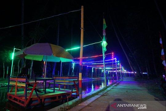 Desa Talulobutu tawarkan wisata air malam hari