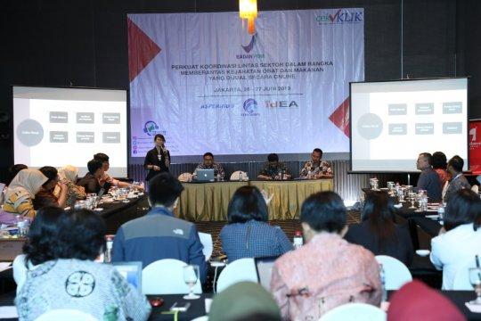 Badan POM gandeng asosiasi E-commerce berantas obat dan makanan ilegal