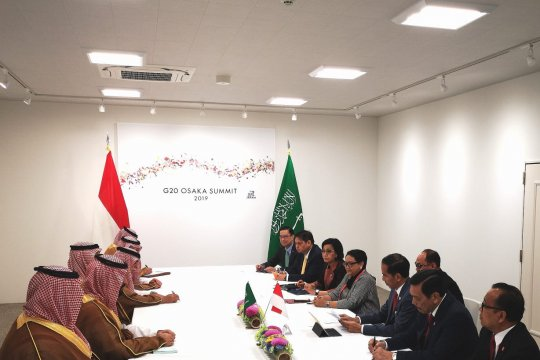 Indonesia dukung Arab Saudi pimpin G20 pada 2020