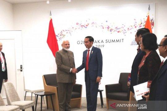 Indonesia-India bahas isu ekonomi dan maritim