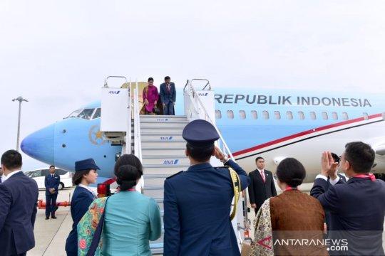 Presiden kembali ke Tanah Air akhiri kunjungan di Jepang