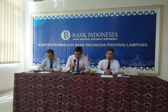 BI : Aset perbankan Lampung tumbuh 4,91 persen.