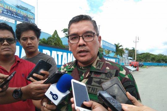 Tim SAR bersama TNI/Polri dan masyarakat cari helikopter M-17