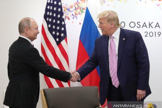 Putin sampaikan terima kasih kepada Trump atas informasi serangan