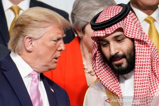 Trump, putra mahkota Saudi bahas pemulihan ekonomi dari COVID-19