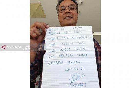 Wali Kota Risma: Saya akan segera pulih