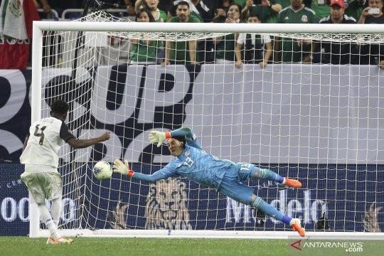 Meksiko ke semifinal lewat kemenangan adu penalti