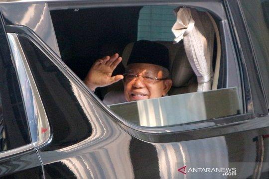 Presiden tiba di Kantor KPU ikuti Rapat Pleno Terbuka