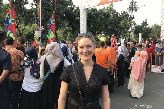 Warga asing kepincut Jakarnaval 2019