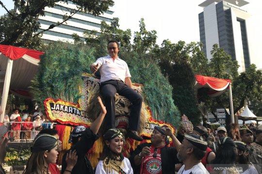 "Anies ""naik"" Reog Ponorogo di Jakarnaval 2019"
